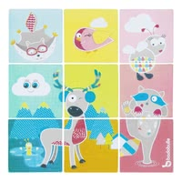 Badabulle Bath Puzzle -  * Badabulle's funny bath puzzle provides your child with playful entertainment in the bath tub.