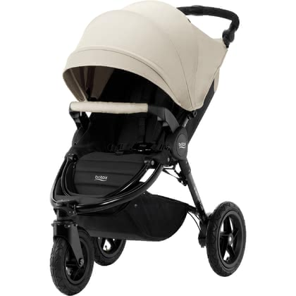 Britax Pushchair B-Motion 3 Plus including Canopy Pack Sand Beige 2019 - large image