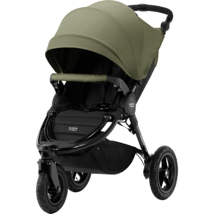 Britax Pushchair B-Motion 3 Plus including Canopy Pack Olive Green 2019 - large image