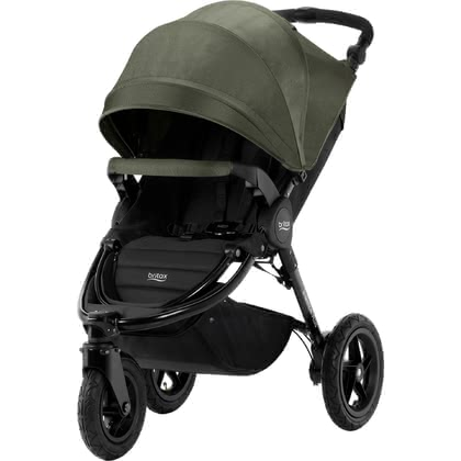 Britax Pushchair B-Motion 3 Plus including Canopy Pack Olive Denim 2019 - large image