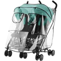 Britax Römer Rain Cover for Buggy Holiday -  * The Britax Römer rain cover stands out as the ideal protection for your child when being out and about with the buggy Holiday Double in bad weather.