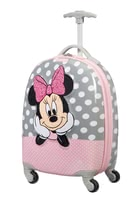 Samsonite Disney Minnie Glitter Spinner (4 Wheels) -  * This adorable spinner from the Disney Ultimate 2.0 collection is the perfect item for accompanying your child on weekend trips or when spending the night at the grandparents.
