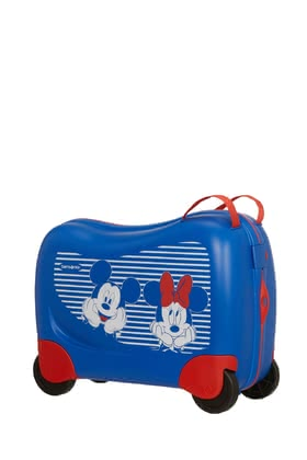 Samsonite Dream Rider Disney Collection - ✓ Mobile travel spinner for children ✓ Can be used as a children's ride-on toy ✓ For children from 3 - 8 years ✓ Volume: 28 litres ✓ 4 stable wheels ✓ Ribbons in the main compartment
