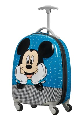 Samsonite Disney Mickey Letters Spinner (4 Wheels) -  * This adorable spinner from the Disney Ultimate 2.0 collection is the perfect item for accompanying your child on weekend trips or when spending the night at the grandparents.