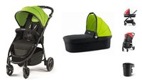 Recaro Pushchair Citylife Bundle -  * With the Recaro Pushchair Citylife including Carrycot you and your little one will enjoy ultimate comfort right from birth up to toddlerhood