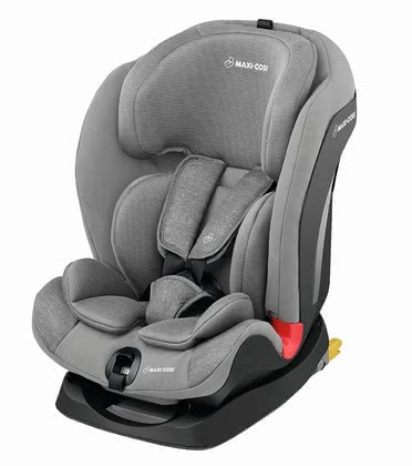 Maxi-Cosi Child Car Seat Titan -  * Designed to grow up together. The Maxi-Cosi Titan can be used as a group 1, 2 and 3 child safety seat and accompanies your little one from an age of approx. 9 months up to 12 years. The Titan scores with its particularly easy-to-adjust headrest.