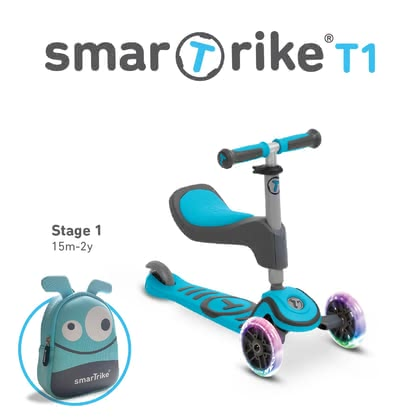 smarTrike Scooter T1 -  * The perfect vehicle from the beginner to the scooter master!
