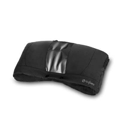 Cybex Hand Warmer -  * The Cybex hand warmer is suitable for being attached to all buggies and stroller with a continuous push bar. That way, you can keep your hands cosy and warm in wind, snow and cold weather.