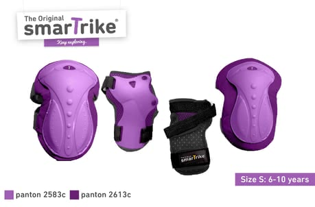 SmarTrike SafeToGo Protection Set -  * Having fun and playing outdoors often means stumbling, falling over and the like – especially when children are still very young. That is why, it is important that your little adventurer has a proper protection equipment.