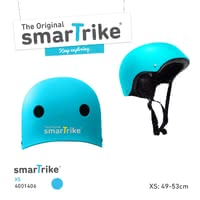 SmarTrike Safety Helmet -  * When your tiny human is out and having fun while skating, riding their bike or scooter, it is super important for them to be provided with proper safety equipment. A kids' bike helmet is the major means to protect your little one from dangerous head injuries.