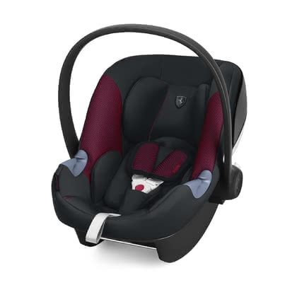 Cybex Scuderia Ferrari Infant Car Seat Aton M i-Size - The Cybex for Scuderia Ferrari collection brings the feeling of the track directly on the streets of the big city.