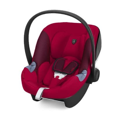 Cybex Scuderia Ferrari Infant Car Seat Aton M i-Size -  * The Cybex Scuderia Ferrari Collection brings the feeling of the racetrack directly to the streets of the city. The combination of design, safety and functionality matches perfectly with the lifestyle of modern parents.