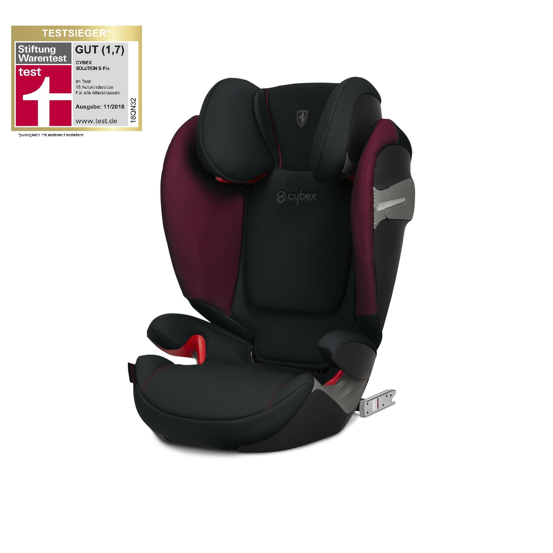 Cybex Scuderia Ferrari Child Car Seat Solution S Fix Victory Black