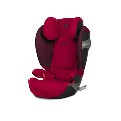 Cybex Scuderia Ferrari Child Car Seat Solution S-Fix -  * The Cybex Scuderia Ferrari Collection brings the feeling of the racetrack directly to the streets of the city. The combination of design, safety and functionality matches perfectly with the lifestyle of modern parents.