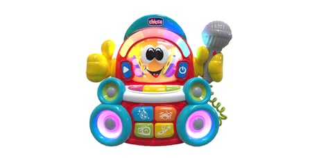 Chicco Musical Toy DJ Karaoke -  * What a fun musical toy – Chicco's DJ Karaoke transforms your voice into a song!