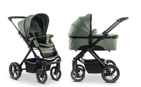 Moon Multi-Functional Stroller including Aluminium Carrycot olive_panama 2019 - large image
