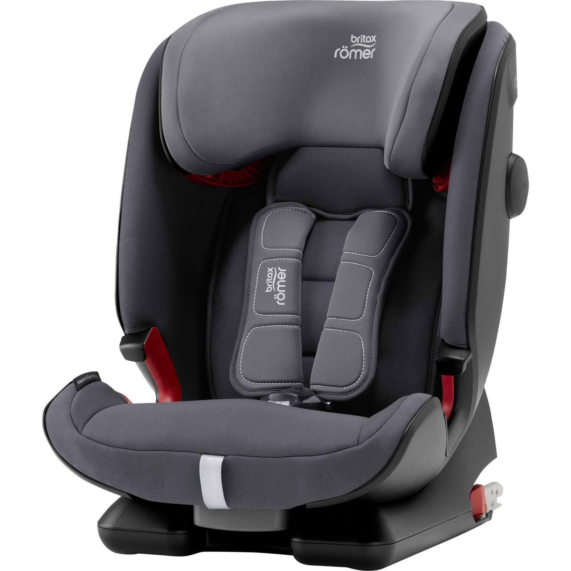 Britax Romer Child Car Seat Advansafix Iv R Storm Grey 2019 Large Image 1