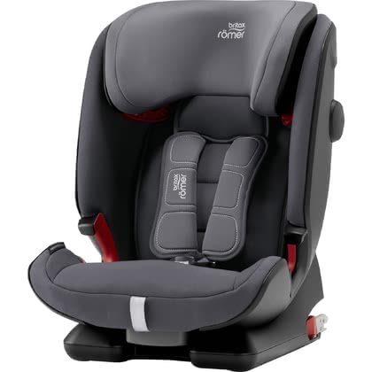Britax Römer Child Car Seat Advansafix IV R - Growing up with the Britax Römer child safety seat Advansafix IV R is going to be fun and easy at the same time. This child car seat provides your little one from 9 months up to 12 years with maximum comfort and safety.