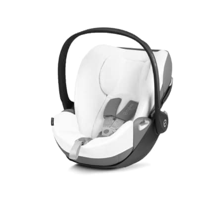Cybex Platinum Summer Cover for Infant Car Seat Cloud Z i-Size -  * The Cybex summer cover is perfectly suitable in warm weather. It matches ideally with the infant car seat Cloud Z i-Size and prevents your little one from breaking a sweat too quickly.
