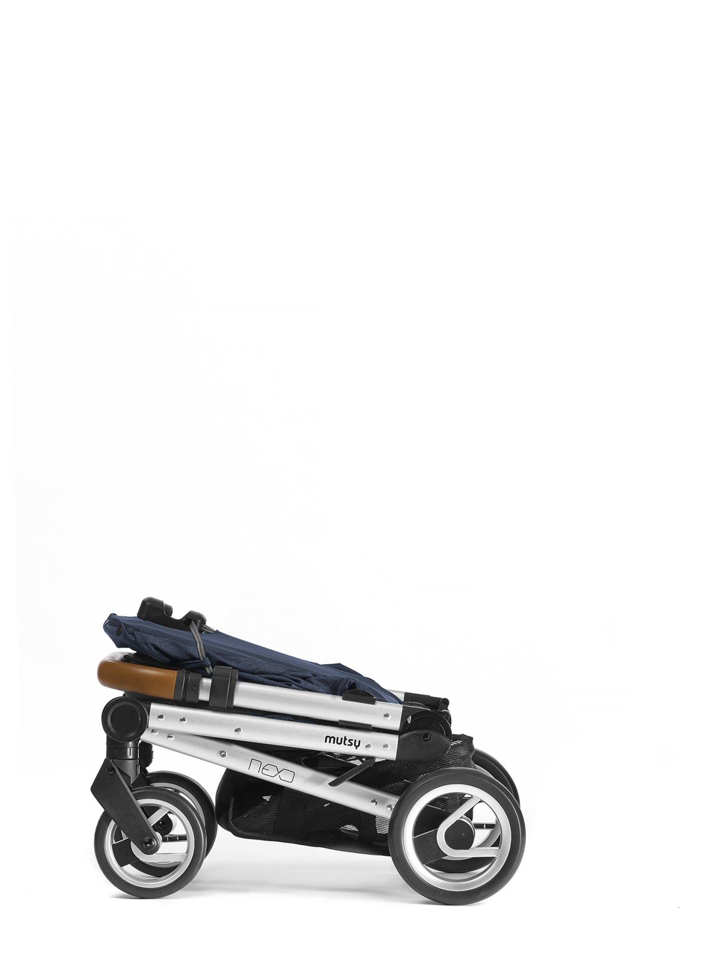 Mutsy Nexo Stroller Blue Melange