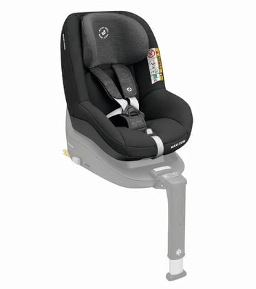 Maxi-Cosi Chid Car Seat Pearl Smart i-Size Nomad Black 2020 - large image
