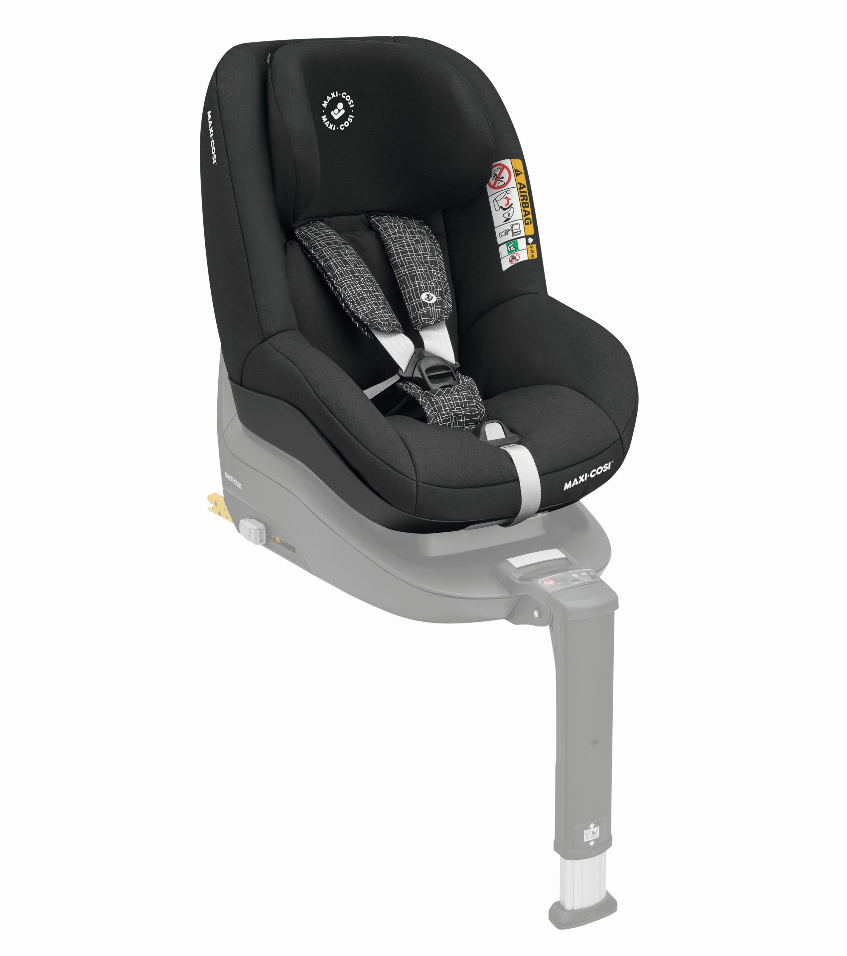 maxi cosi chid car seat pearl smart i size 2019 black grid. Black Bedroom Furniture Sets. Home Design Ideas
