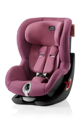 Britax Römer Child Car Seat King II - Black Series -  * The Britax Römer child car seat King II is suitable for your little explorer at the age of 9 months up to 4 years. It features a built-in side and frontal impact protection which provide your child with a high level of safety during every ride in your car.
