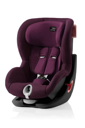 Britax Römer Child Car Seat King II - Black Series -  * ✓ patented belt tensioning system ✓ easy installation ✓ side impact protection ✓ suitable from approx. 9 months ✓ Made in Germany