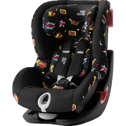 Britax Römer Child Car Seat King II – Black Series -  * The Britax Römer child car seat King II is suitable for your little explorer at the age of 9 months up to 4 years. It features a built-in side and frontal impact protection which provide your child with a high level of safety during every ride in your car.