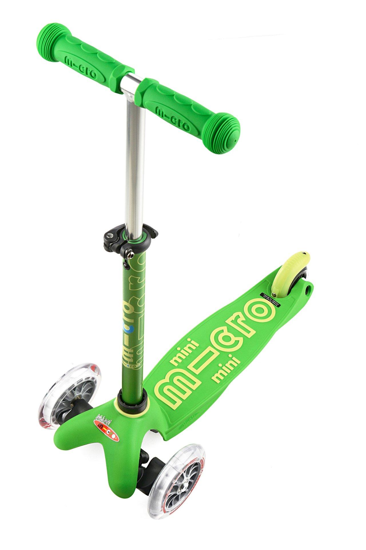 Kinder-Roller//Kinder-Scooter Mini Micro Deluxe grün