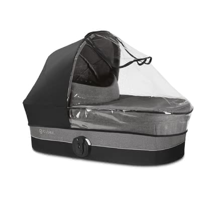 Cybex Rain Cover for Carrycot Cot S -  * This rain cover is the ideal companion that matches perfectly with your Cybex carrycot Cot S and protects your little one in wind and rain.