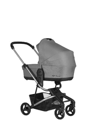 MINI by Easywalker Carrycot for Charley -  * The carrycot for the Charley transforms your stylish buggy into a full stroller. That way, you can explore both the city and the country with your baby right from the very first day.