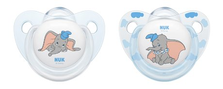 NUK Silicone Soother Disney Classics Limited Edition -  * The product world of NUK is now enchanted by the adorable Disney characters Dumbo and Bambi that come in a limited edition. The cute companion calms your little sweetheart and makes him/ her feel safe and secure.