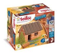 teifoc Brick Building Set Small House -  * Build a cute little house with your child! This brick building set is suitable for young and old beginners who wish to get into building with real bricks.