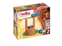 teifoc Brick Building Set Well -  * Build yourself and your child a precise reproduction of a little well and use it as a suitable complement to the other teifoc buildings.