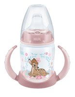 NUK Disney Classics First Choice Learner Bottle, 150 ml – Limited Edition -  * The product world of NUK is now enchanted by the adorable Disney characters Bambi and Dumbo that come in a limited edition. The clumsy fawn and the faithful elephant with the big ears will soon become your child's most favourite companion.