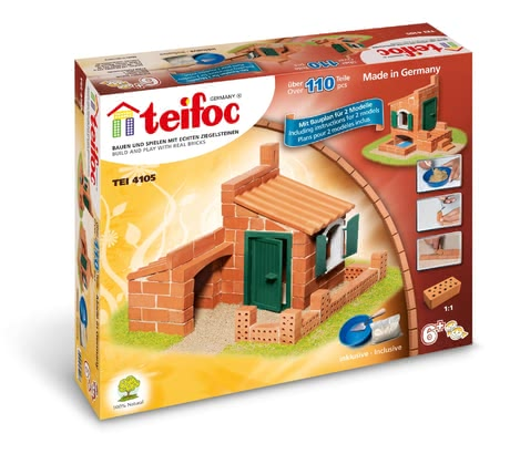 teifoc Brick Building Set Houses -  * Your child will be super proud when s/he has built their very own little house all by themselves. The lovely little details such as the window with movable shutters, encourage your child to play.