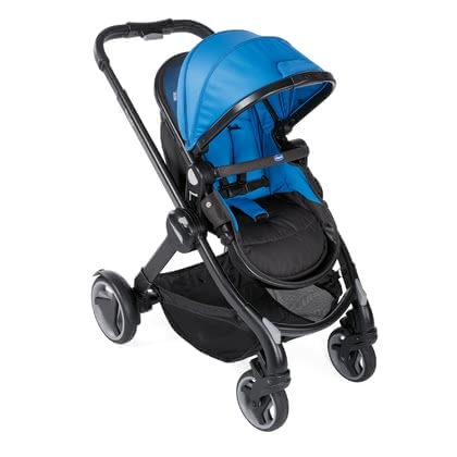 Chicco Stroller Fully Power Blue 2020 - large image