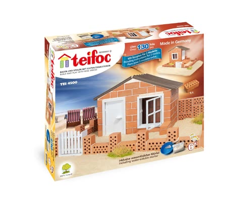 teifoc Brick Building Set Beach House -  * Let yourself and your child be inspired by teifoc's adorable beach house. Your child can build his own small holiday home step by step.