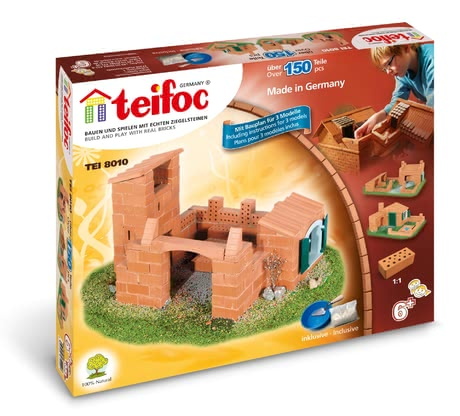 teifoc Castle/ House -  * You and Your child will experience a lot of fun and many exciting adventures with teifoc's great brick building set.