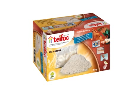 teifoc Ready-Mixed Mortar -  * The mortar based on sand and corn extract is harmless to health and soluble in water.