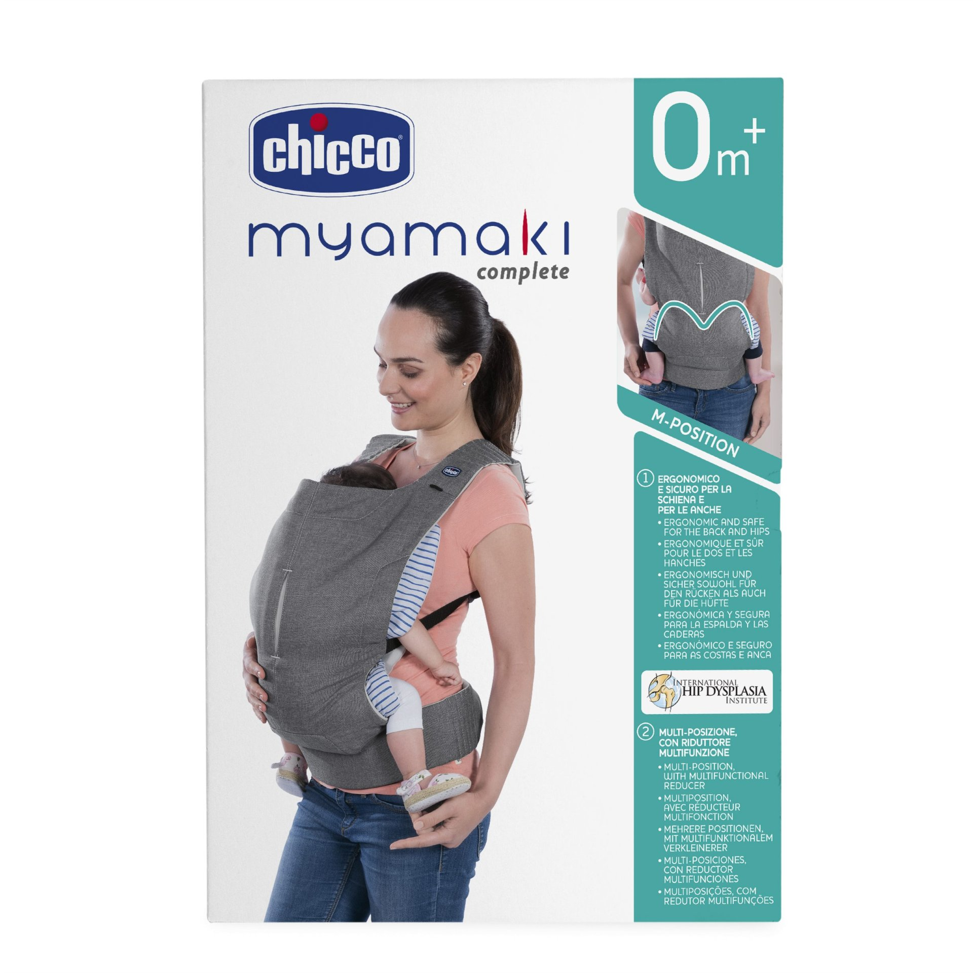 Chicco Baby Carrier Myamaki Complete 2019 Grey Stripes Buy At