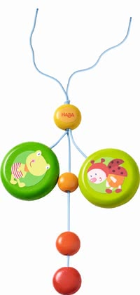 "Haba Dangling Figure ""Little Friends"" -  * The Haba dangling figure ""Little Friends"" promotes your child's fine motor skills in a playful way."