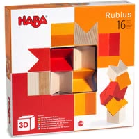 Haba 3D Arranging Game -  * The 3D pegging games provide fun for young and old alike. There are no limits to creativity, because there are innumerable variations on how the block can be arranged. Different colours featured in each game add great effects.