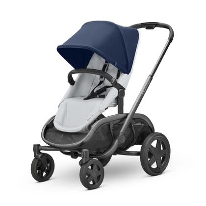 Quinny Stroller Hubb Navy on Grey 2019 - large image