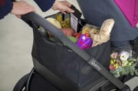 Quinny Hubb XXL Shopping Basket -  * A shopping basket that transforms your Quinny Hubb into an XXL shopping pram. Perfect for weekly grocery hauls or a spontaneous shopping tour, the Hubb XXL Shopping Basket is suitable for any adventure.