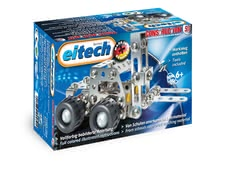 Eitech Metal Building Kit Forklift -  * With the eitech Metal Building Kit Forklift your little builder can construct another vehicle for the mini-construction site in the nursery.