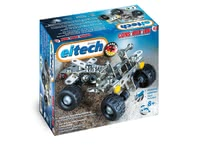 eitech Metal Building Kit Quad -  * The Metal Building Kit Quad is particularly suitable for beginners since the construction is not too complex but still compact and robust. Due to numerous variations, your child can modify the Quad whenever s/he feels like.