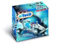 eitech Metal Building Kit Racing Car -  * Watch out, little racers! The Metal Construction Kit Racing Car by eitech will turn your room into a race track.