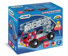 Eitech Metal Building Kit Fire Truck -  * Are you ready for operation with your self-constructed fire truck? The eitech Metal Construction Kit Fire Truck makes it possible.